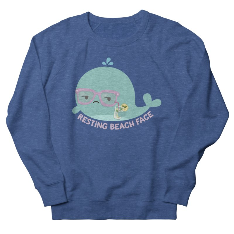 Resting Beach Face Men's Sweatshirt by FunUsual Suspects T-shirt Shop