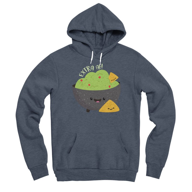 Extra AF Women's Pullover Hoody by FunUsual Suspects T-shirt Shop