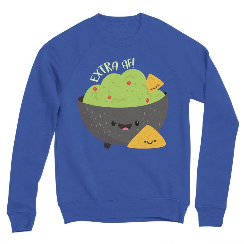 Extra AF Men's Sweatshirt by FunUsual Suspects T-shirt Shop