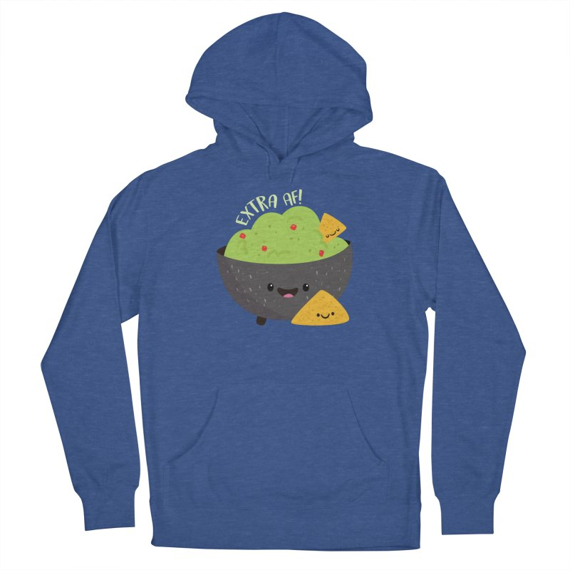 Extra AF Men's Pullover Hoody by FunUsual Suspects T-shirt Shop