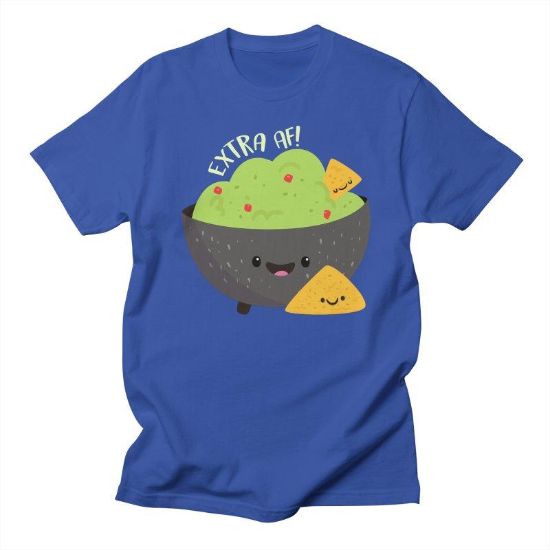 Extra AF Men's Regular T-Shirt by FunUsual Suspects T-shirt Shop