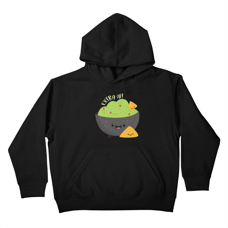Extra AF Kids Pullover Hoody by FunUsual Suspects T-shirt Shop