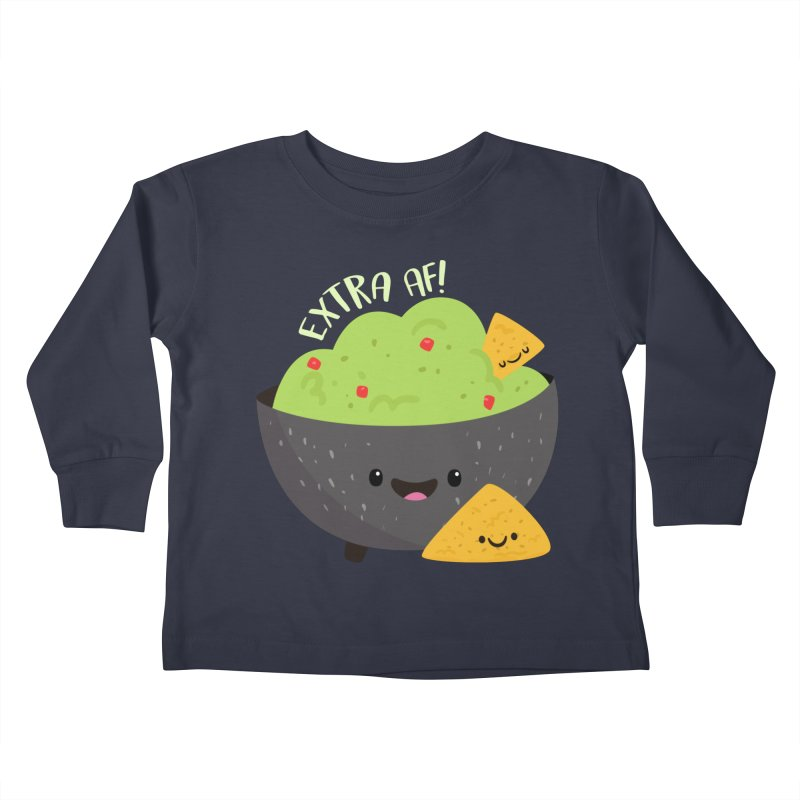 Extra AF Kids Toddler Longsleeve T-Shirt by FunUsual Suspects T-shirt Shop