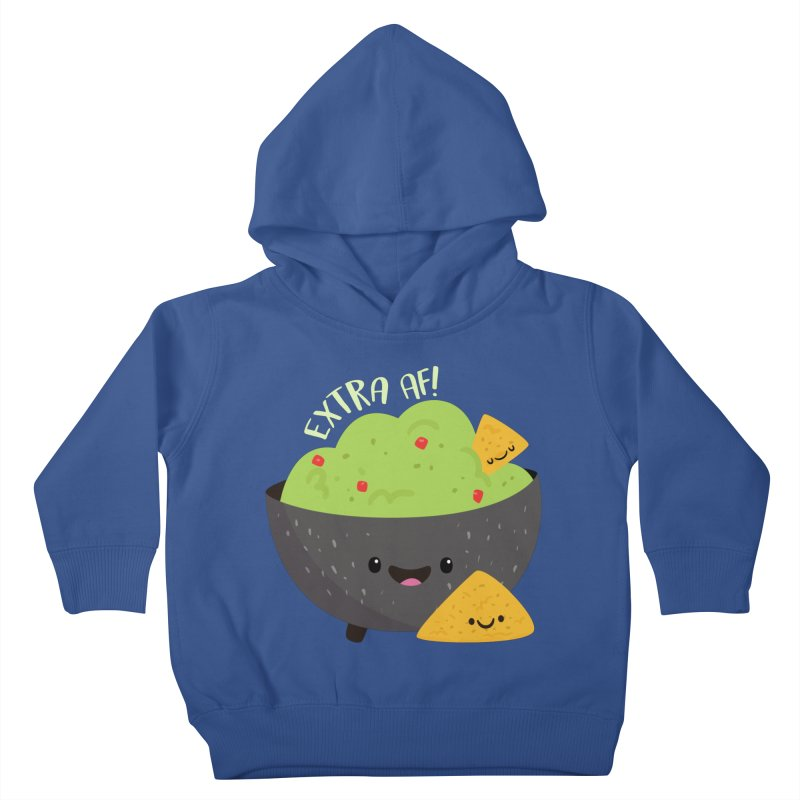 Extra AF Kids Toddler Pullover Hoody by FunUsual Suspects T-shirt Shop