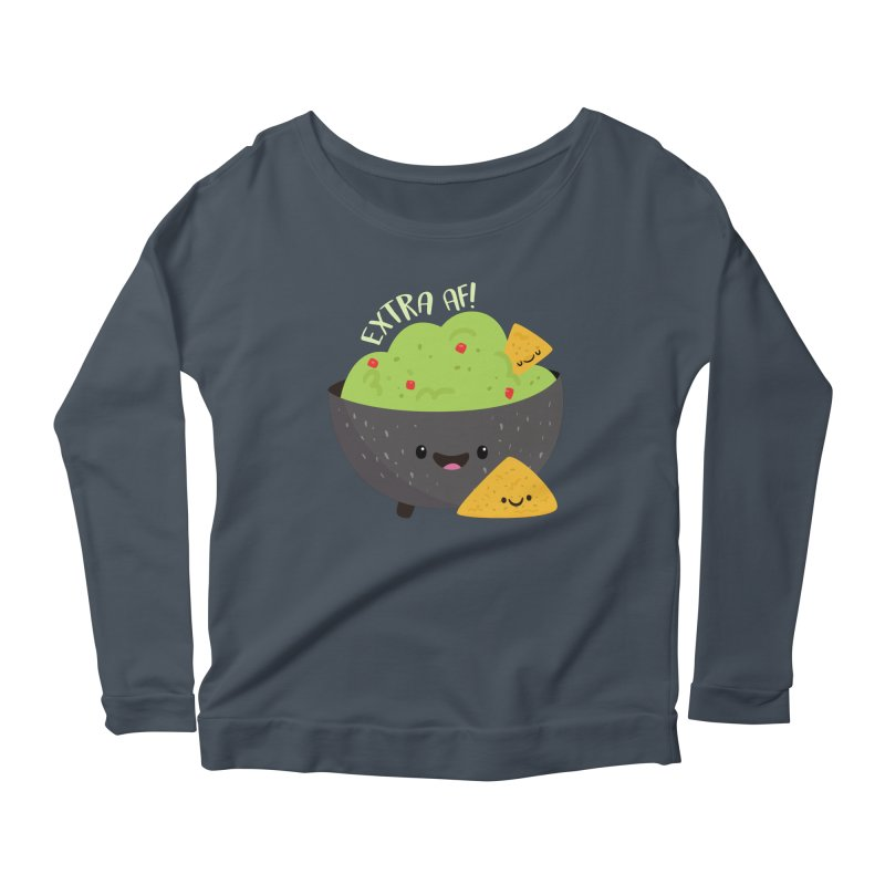 Extra AF Women's Longsleeve T-Shirt by FunUsual Suspects T-shirt Shop
