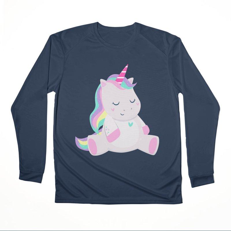 Magically Mellow Women's Performance Unisex Longsleeve T-Shirt by FunUsual Suspects T-shirt Shop