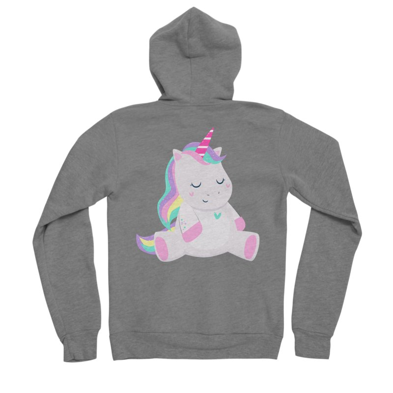 Magically Mellow Women's Zip-Up Hoody by FunUsual Suspects T-shirt Shop