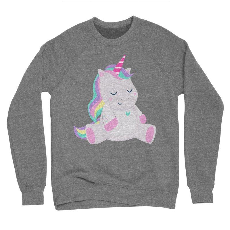 Magically Mellow Men's Sponge Fleece Sweatshirt by FunUsual Suspects T-shirt Shop