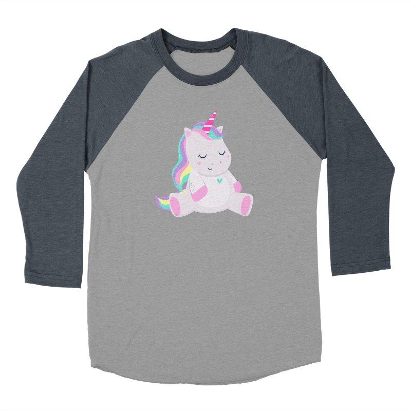 Magically Mellow Women's Baseball Triblend Longsleeve T-Shirt by FunUsual Suspects T-shirt Shop