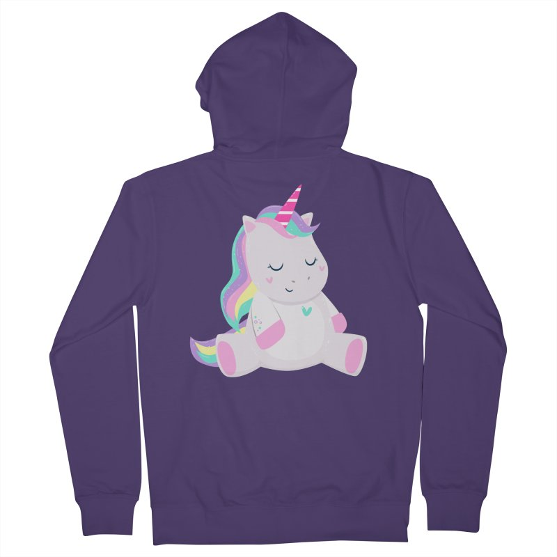 Magically Mellow Women's French Terry Zip-Up Hoody by FunUsual Suspects T-shirt Shop