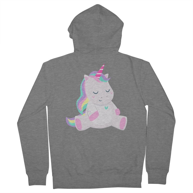Magically Mellow Men's Zip-Up Hoody by FunUsual Suspects T-shirt Shop