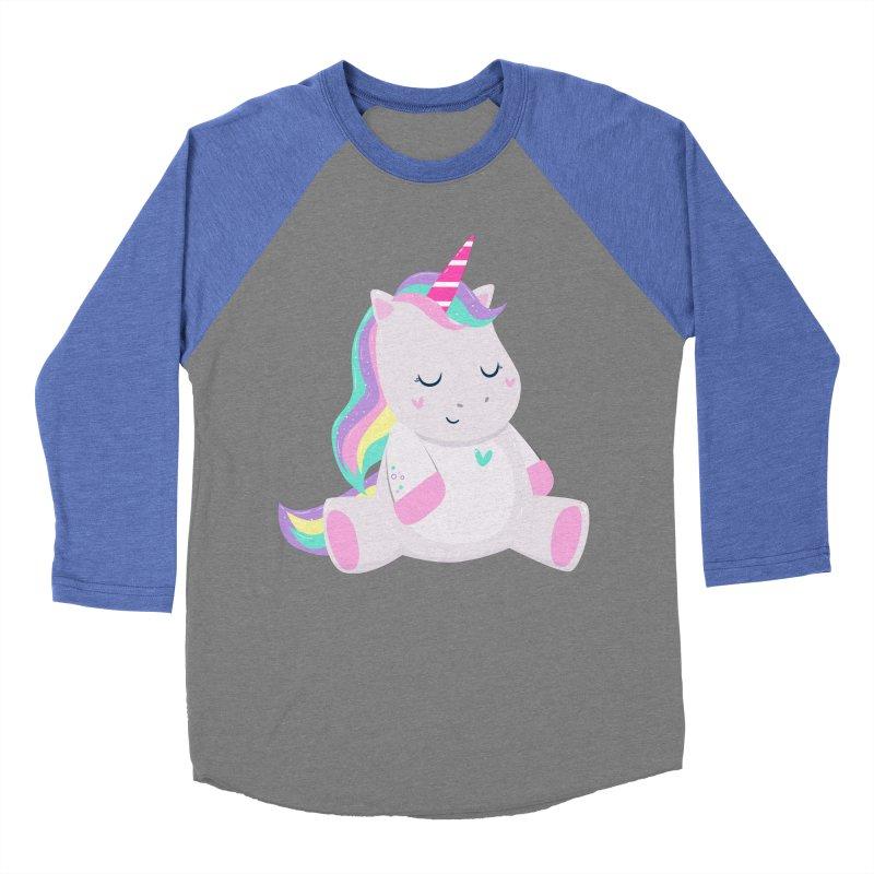 Magically Mellow Men's Baseball Triblend Longsleeve T-Shirt by FunUsual Suspects T-shirt Shop