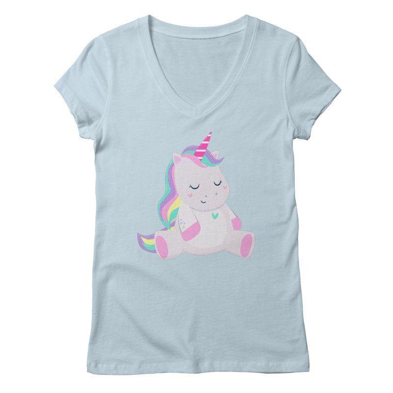 Magically Mellow Women's V-Neck by FunUsual Suspects T-shirt Shop