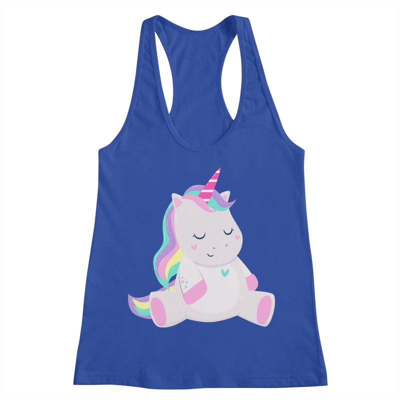 Magically Mellow Women's Racerback Tank by FunUsual Suspects T-shirt Shop