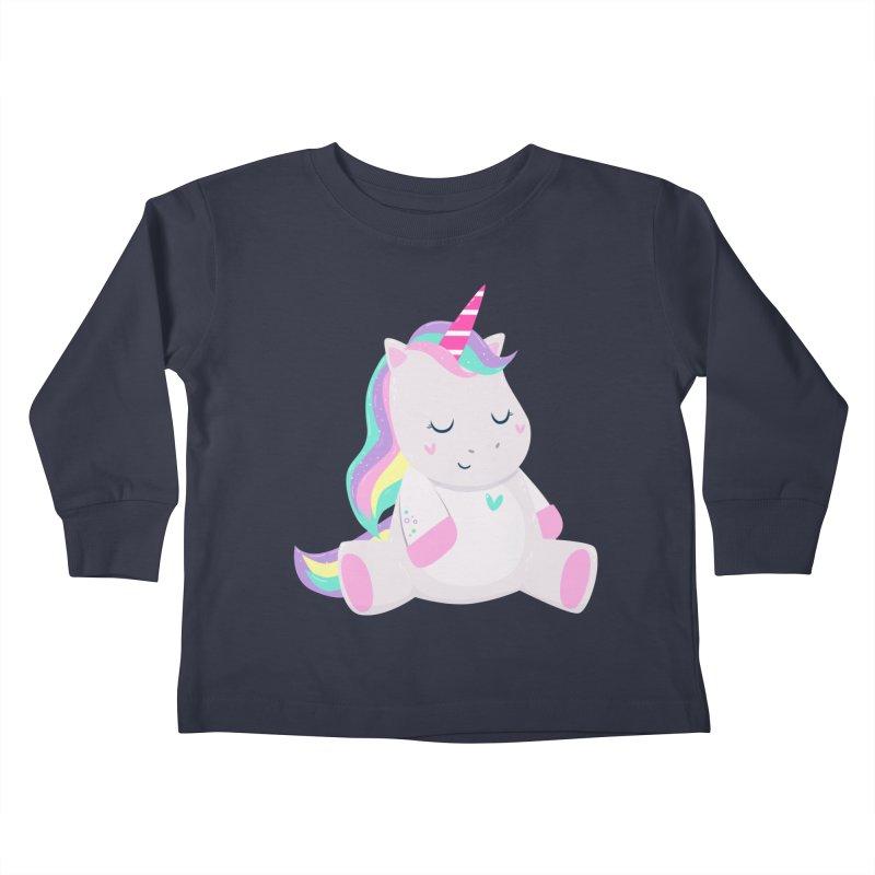 Magically Mellow Kids Toddler Longsleeve T-Shirt by FunUsual Suspects T-shirt Shop
