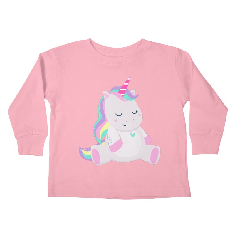 Magically Mellow Kids Toddler Longsleeve T-Shirt by FunUsual Suspects T-shirt Shop