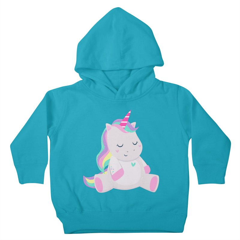 Magically Mellow Kids Toddler Pullover Hoody by FunUsual Suspects T-shirt Shop