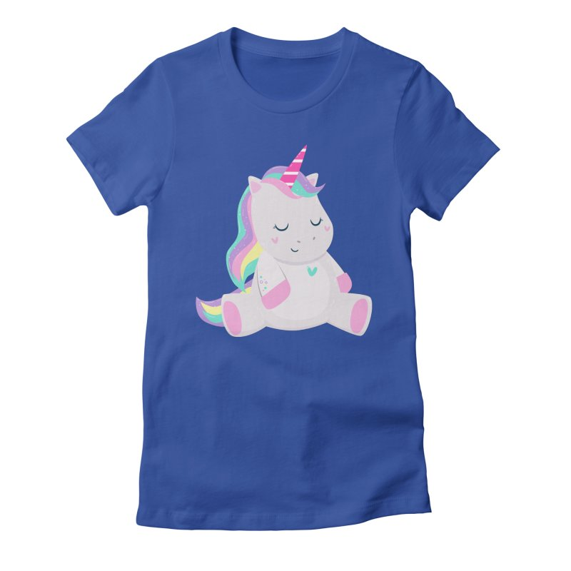 Magically Mellow Women's Fitted T-Shirt by FunUsual Suspects T-shirt Shop