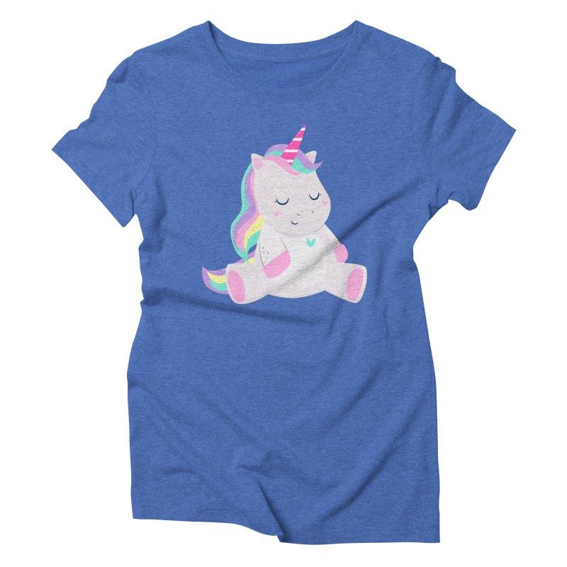 Magically Mellow Women's Triblend T-Shirt by FunUsual Suspects T-shirt Shop