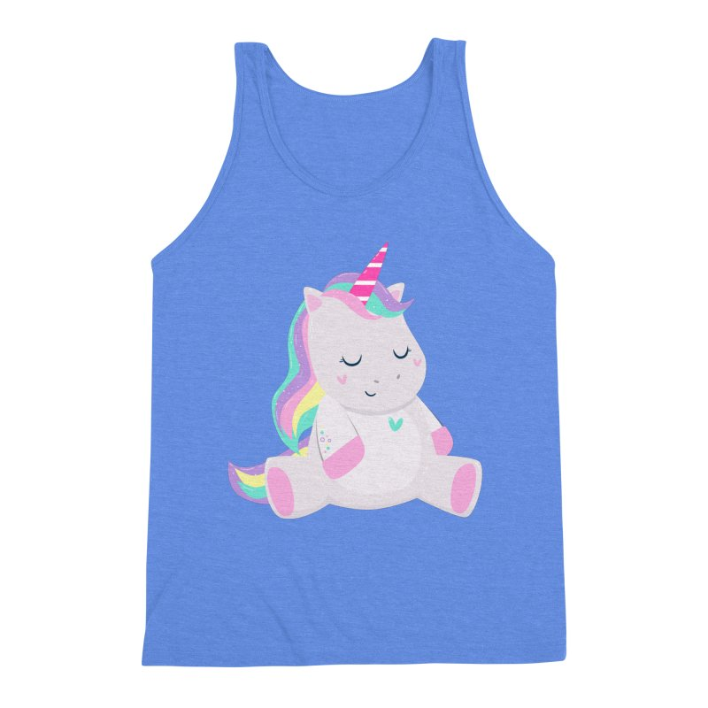 Magically Mellow Men's Triblend Tank by FunUsual Suspects T-shirt Shop