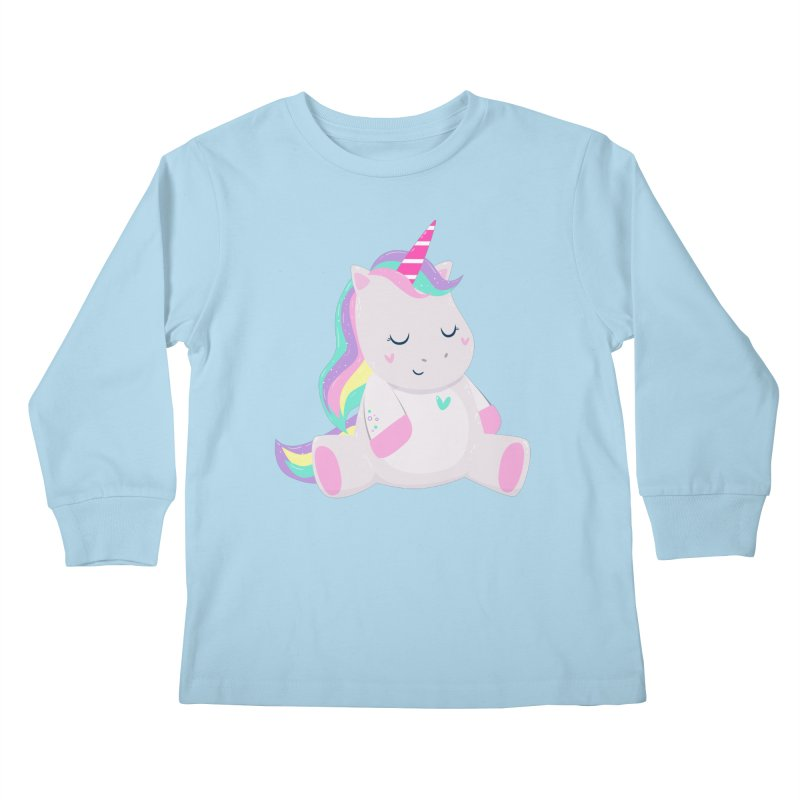 Magically Mellow Kids Longsleeve T-Shirt by FunUsual Suspects T-shirt Shop