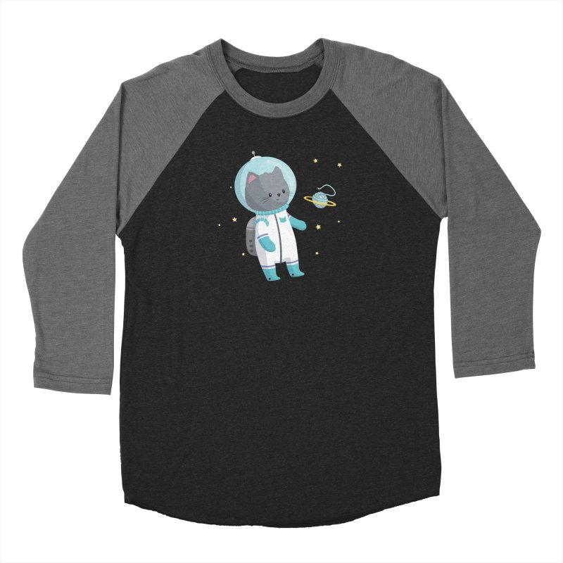 Space Cat Women's Longsleeve T-Shirt by FunUsual Suspects T-shirt Shop