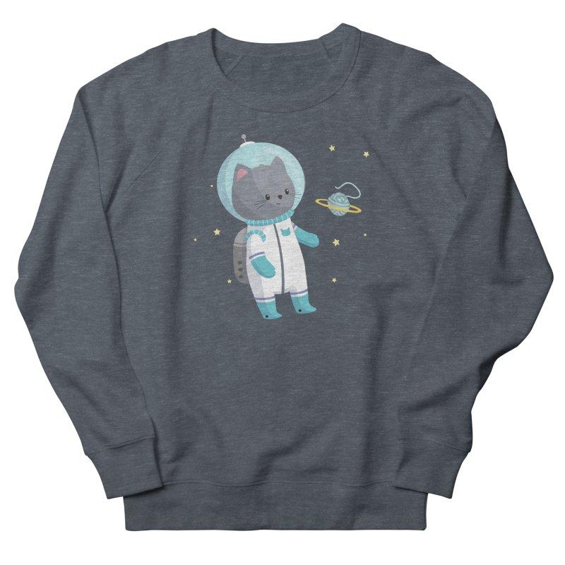 Space Cat Men's Sweatshirt by FunUsual Suspects T-shirt Shop