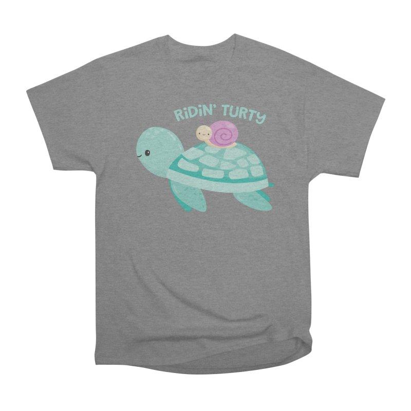 Ridin' Turty Women's T-Shirt by FunUsual Suspects T-shirt Shop