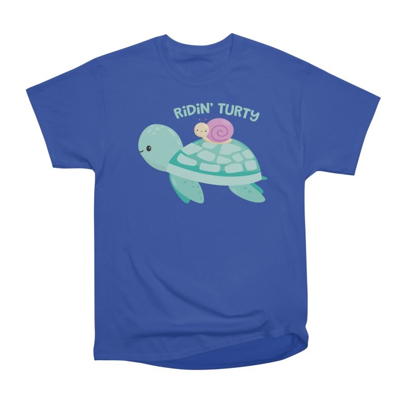 Ridin' Turty Women's T-Shirt by FunUsual Suspects T-shirt Shop