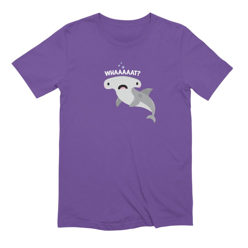Whaaaaaat? Men's Extra Soft T-Shirt by FunUsual Suspects T-shirt Shop