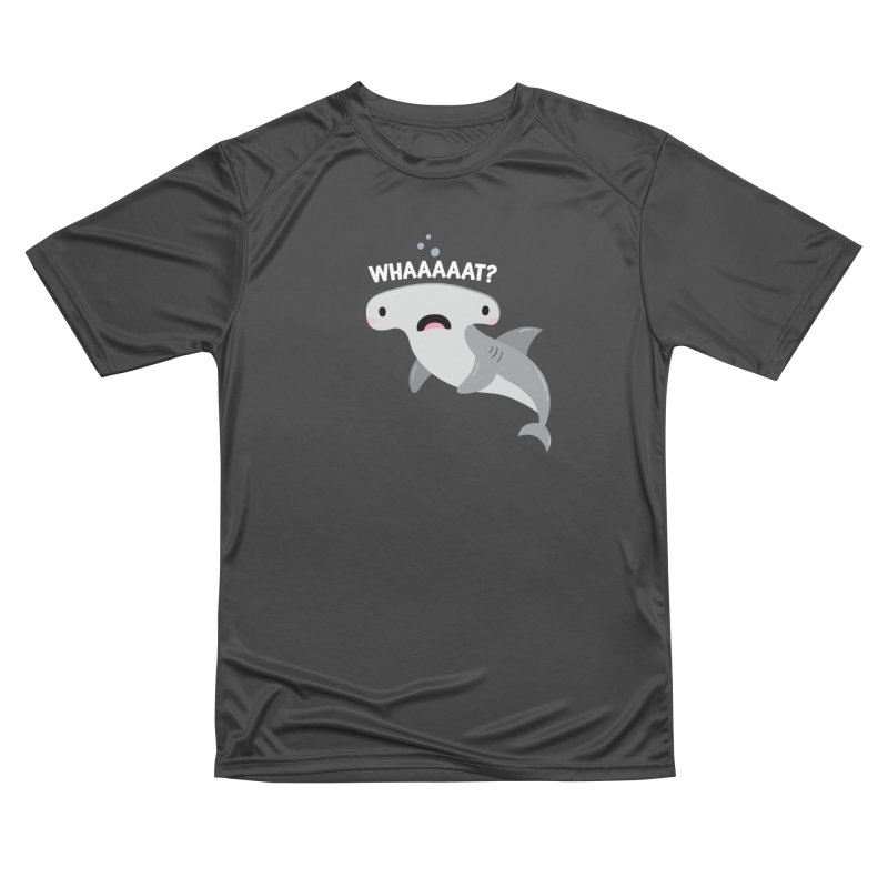 Whaaaaaat? Men's Performance T-Shirt by FunUsual Suspects T-shirt Shop