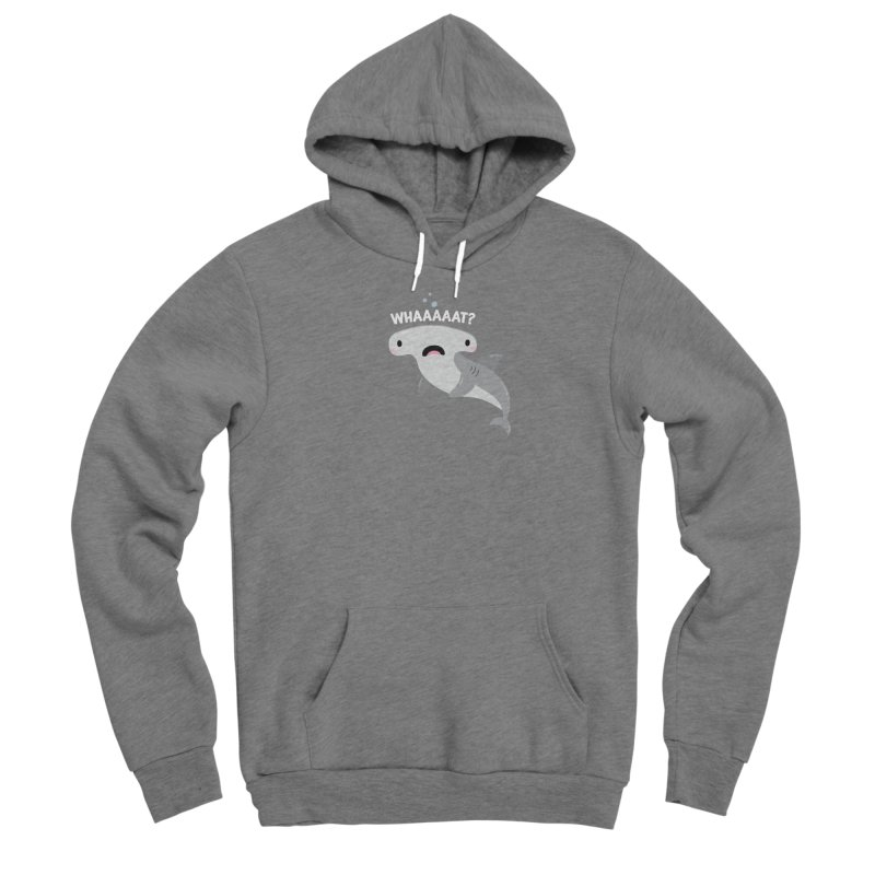 Whaaaaaat? Men's Pullover Hoody by FunUsual Suspects T-shirt Shop