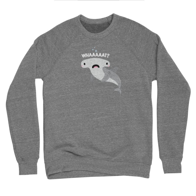 Whaaaaaat? Men's Sponge Fleece Sweatshirt by FunUsual Suspects T-shirt Shop