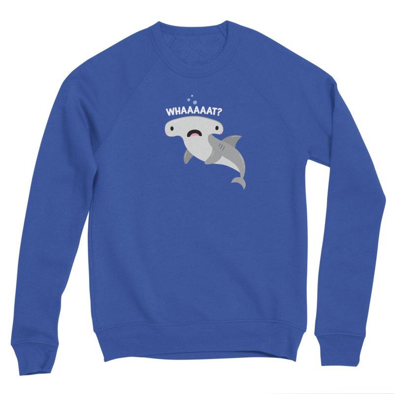 Whaaaaaat? Women's Sponge Fleece Sweatshirt by FunUsual Suspects T-shirt Shop