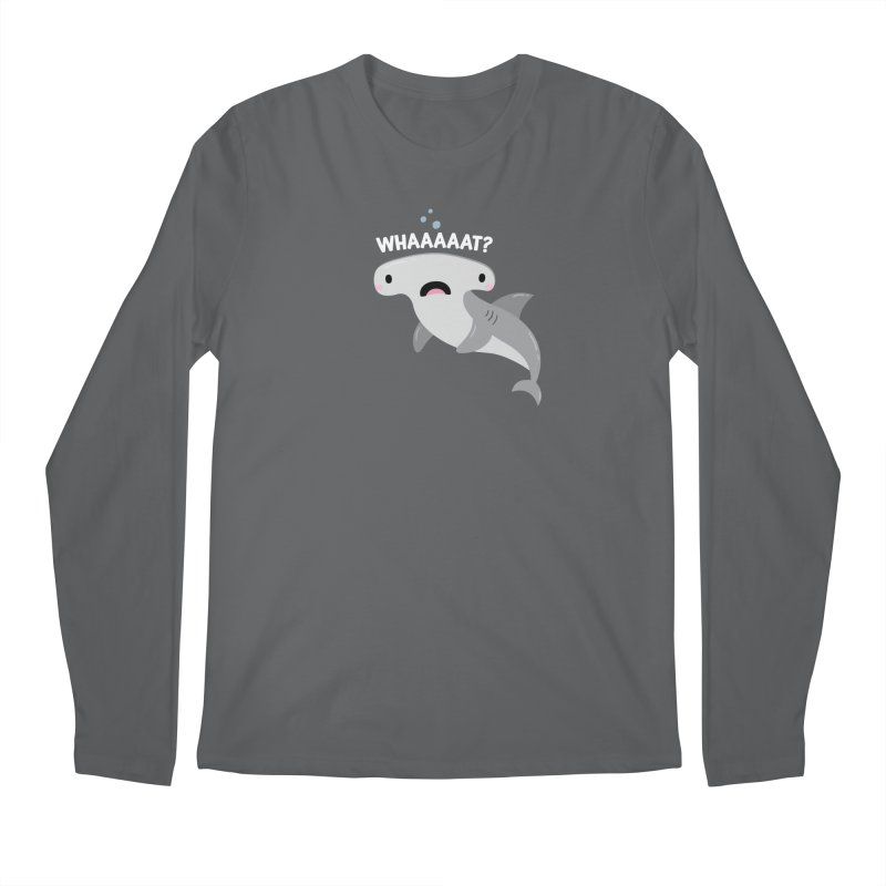Whaaaaaat? Men's Longsleeve T-Shirt by FunUsual Suspects T-shirt Shop