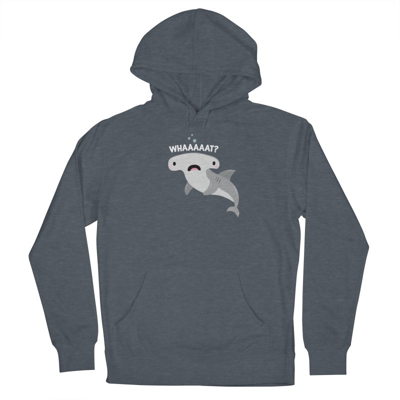 Whaaaaaat? Women's French Terry Pullover Hoody by FunUsual Suspects T-shirt Shop