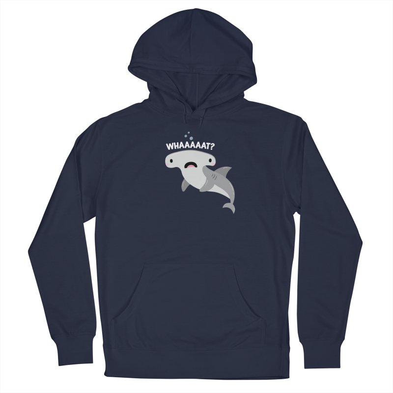 Whaaaaaat? Men's Pullover Hoody by FunUsual Suspects T-shirt Shop
