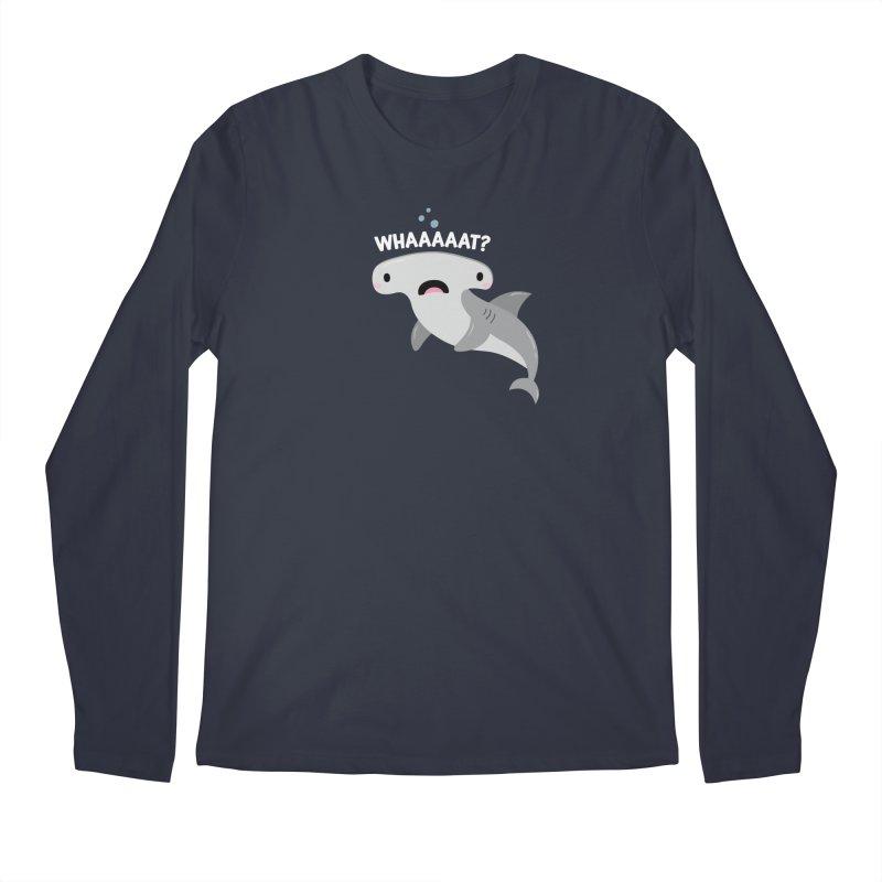 Whaaaaaat? Men's Regular Longsleeve T-Shirt by FunUsual Suspects T-shirt Shop