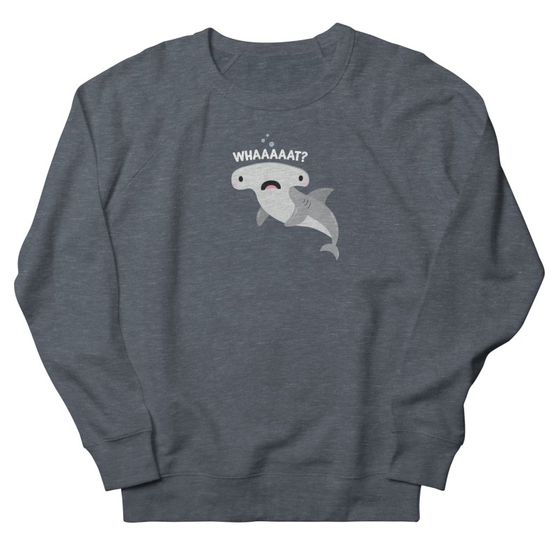 Whaaaaaat? Men's French Terry Sweatshirt by FunUsual Suspects T-shirt Shop
