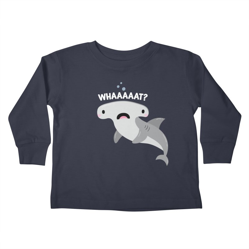 Whaaaaaat? Kids Toddler Longsleeve T-Shirt by FunUsual Suspects T-shirt Shop