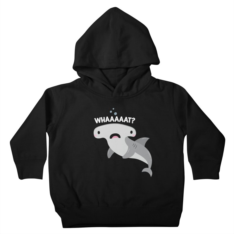 Whaaaaaat? Kids Toddler Pullover Hoody by FunUsual Suspects T-shirt Shop