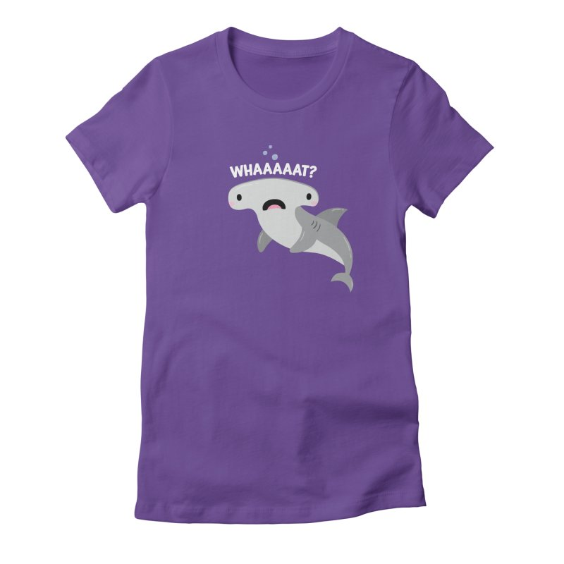 Whaaaaaat? Women's T-Shirt by FunUsual Suspects T-shirt Shop