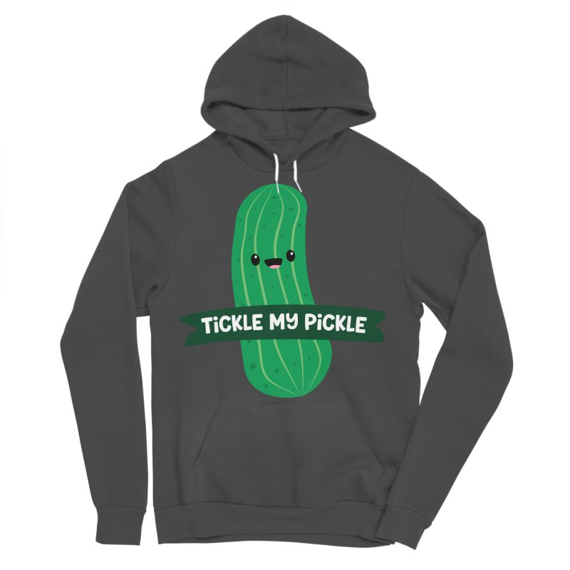 Tickle My Pickle Men's Sponge Fleece Pullover Hoody by FunUsual Suspects T-shirt Shop