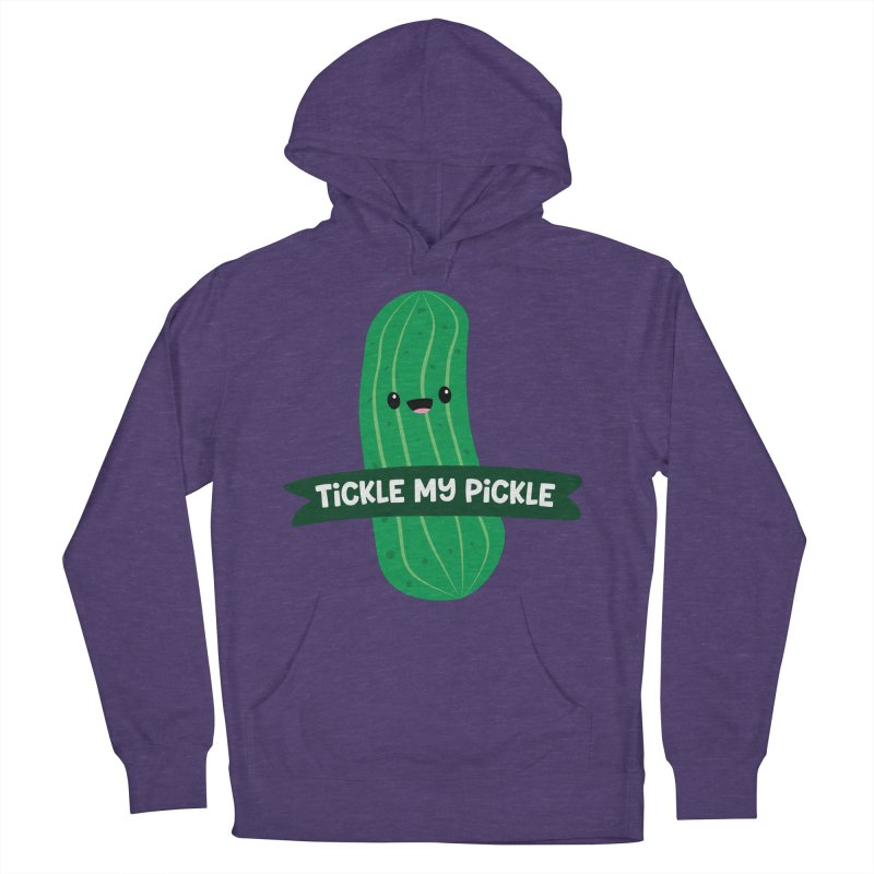 Tickle My Pickle Men's French Terry Pullover Hoody by FunUsual Suspects T-shirt Shop