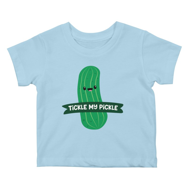 Tickle My Pickle Kids Baby T-Shirt by FunUsual Suspects T-shirt Shop