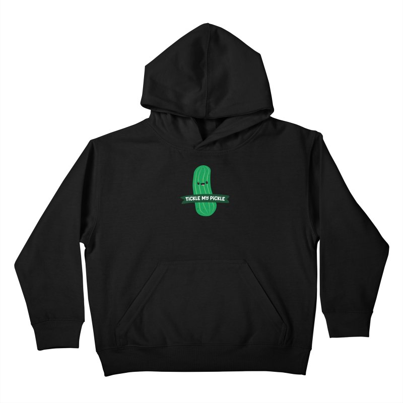 Tickle My Pickle Kids Pullover Hoody by FunUsual Suspects T-shirt Shop