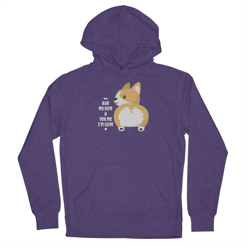 Rub My Butt Men's Pullover Hoody by FunUsual Suspects T-shirt Shop