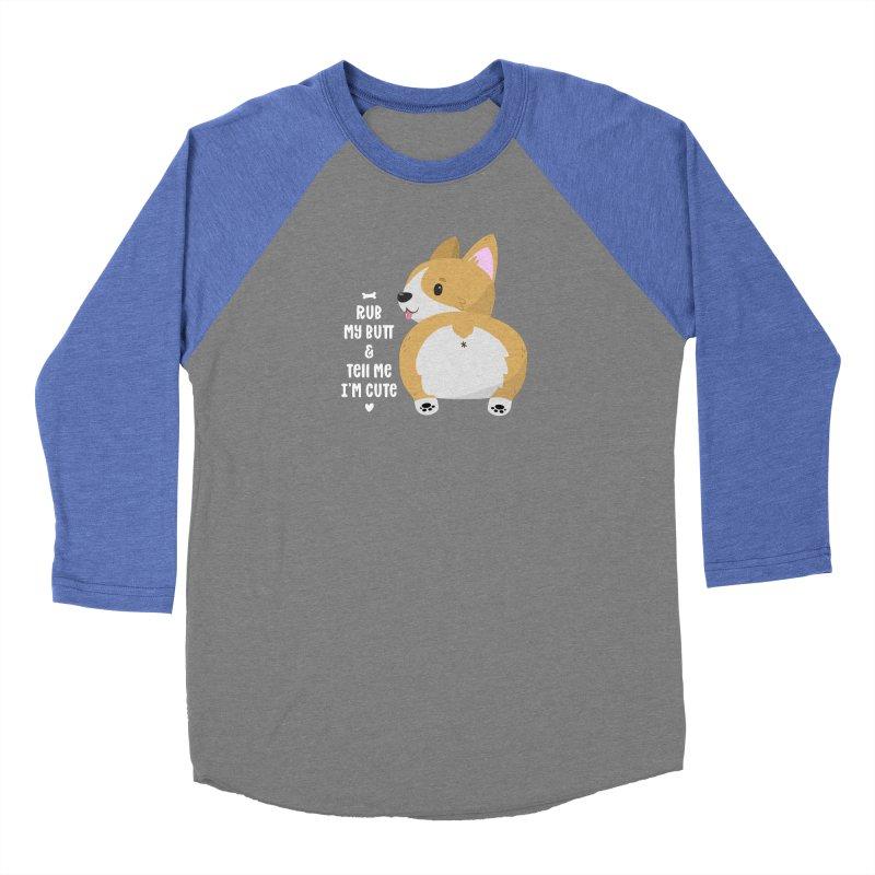 Rub My Butt Women's Longsleeve T-Shirt by FunUsual Suspects T-shirt Shop