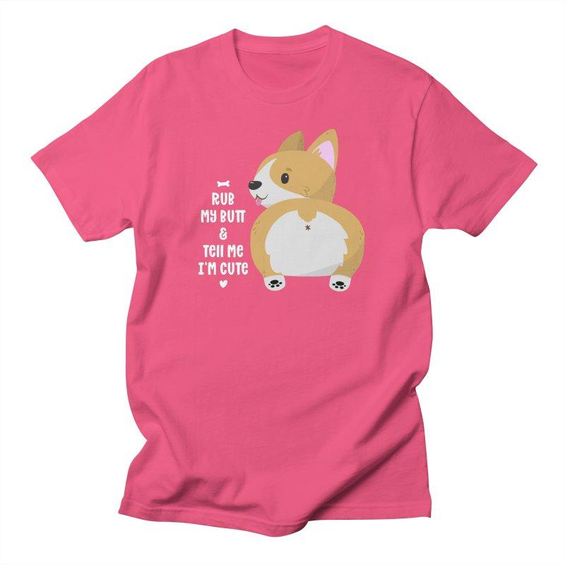 Rub My Butt Men's T-Shirt by FunUsual Suspects T-shirt Shop