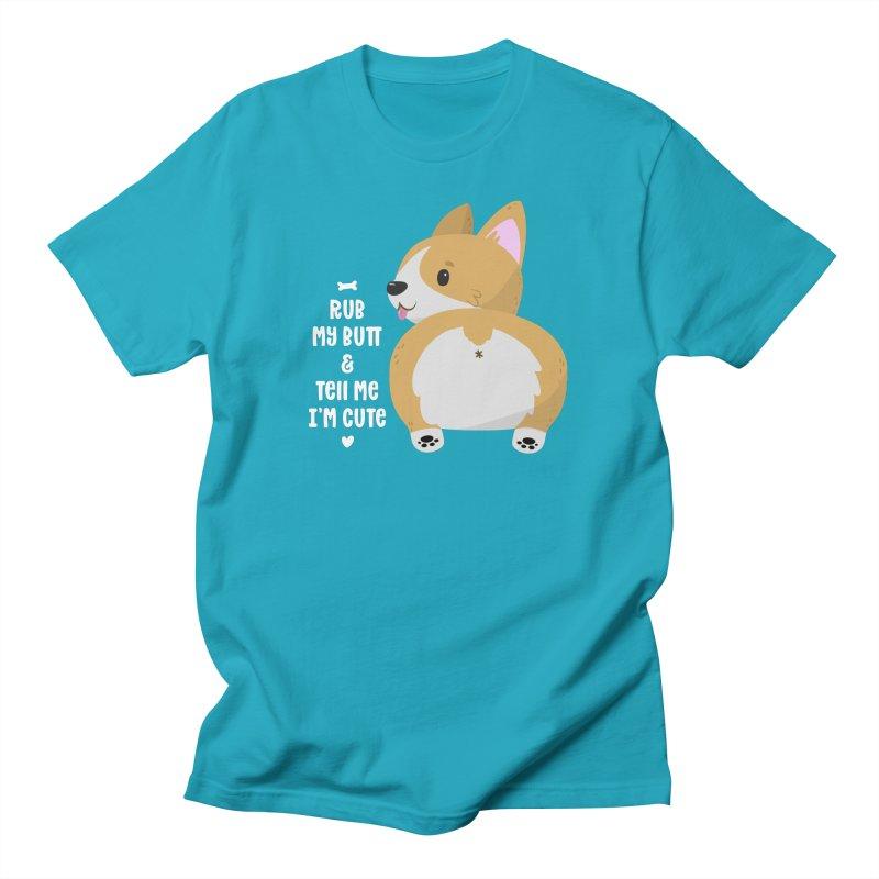 Rub My Butt Women's T-Shirt by FunUsual Suspects T-shirt Shop